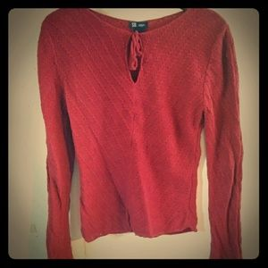 Sweater with Extra Long Sleeves